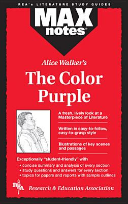 Maxnotes the Color Purple By Hubert, Christopher
